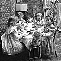 Tea Party, C1902 by Granger