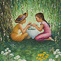 Tea Party by Lynn Bywaters