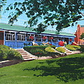 Tea Rooms At The Peoples Park by Tony Gunning