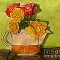 Tea Roses by Joan-Violet Stretch