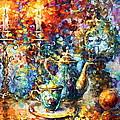 Tea Time by Leonid Afremov