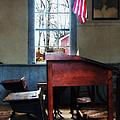 Teacher - Schoolmaster's Desk by Susan Savad