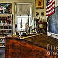 Teacher - Vintage Desk by Paul Ward