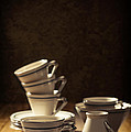 Teacups by Amanda Elwell