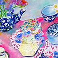 Teacups by Harlene Bernstein