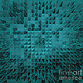 Teal Quilt by Alys Caviness-Gober