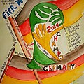 Team Germany Fifa Champions by Elaine Duras