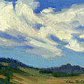 Teanaway Passing Clouds by Diane McClary