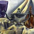 Teapot Still Life  by Nada Meeks