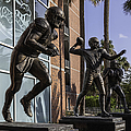 Tebow Spurrier And Wuerffel Uf Heisman Winners by Lynn Palmer