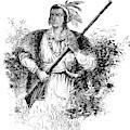 Tecumseh, Shawnee Indian Leader by British Library