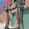 Ted Williams Statue by Barbara McDevitt