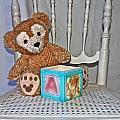 Teddy And Toy Box by Izabela Bienko
