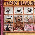 Teddy Bear Shop by Lucia Stewart