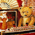 Teddy Bear With Tugboat Doll And Fan Childhood Memories Old Toys And Collectibles Nostalgic Scenes  by Carole Spandau