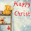 Teddy Bears At Christmas by Amanda Elwell