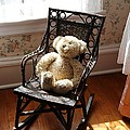 Teddy In Old Fashioned Rocker by Carol Groenen