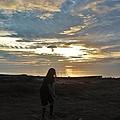 Teed Up Sunset Shot 2 12/5 by Mark Lemmon