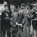 Teen- Agers Elect Prize Winning Author by Retro Images Archive