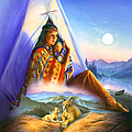 Teepee Of Dreams by Andrew Farley