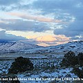 Tehachapi Valley With Job Quote by Jeff Kemper