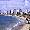 Tel Aviv Beach by Uri Baruch