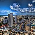 Tel Aviv Center Skyline by Ron Shoshani