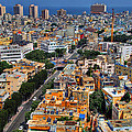 Tel Aviv Eagle Eye View by Ron Shoshani