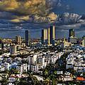 Tel Aviv Skyline Fascination by Ronsho