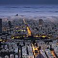 Tel Aviv Under Fog  by Ronsho