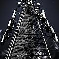 Telecommunications Tower by Jorgo Photography - Wall Art Gallery
