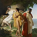 Telemachus And Eucharis by Raymond Quinsac Monvoisin