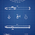 Telescope Patent From 1874 - Blueprint by Aged Pixel