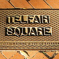 Telfair Square In Savannah by Terry Cobb