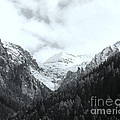 Telluride 2 Black And White by Marlene Burns