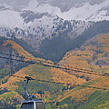 Telluride Winter Over Fall by Mike Berenson