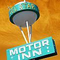 Telstar Motor Inn - Orange by Larry Hunter
