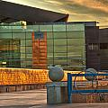 Tempe Center For The Arts Sunset by Georgianne Giese
