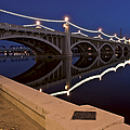 Tempe Town Lake Lights by Dave Dilli