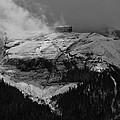 Tempest On Teapot Mountain by Gary Benson