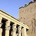 Temple At Philae In Egypt by Brenda Kean