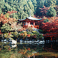 Temple Behind A Pond, Daigo-ji Temple by Panoramic Images