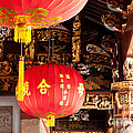 Temple Lanterns 01 by Rick Piper Photography
