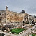 Temple Mount Jerusalem by Mark Fuller