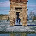Temple Of Debod II by Joan Carroll