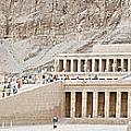 Temple Of Hatsepsut In Egypt by Sophie McAulay