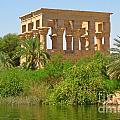 Temple Of Isis Among The Trees by John Malone