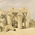 Temple Of Sobek And Haroeris At Kom Ombo by David Roberts
