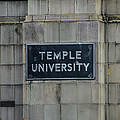 Temple U by Bill Cannon