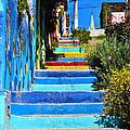 Templeman Street Valparaiso Chile by Kurt Van Wagner